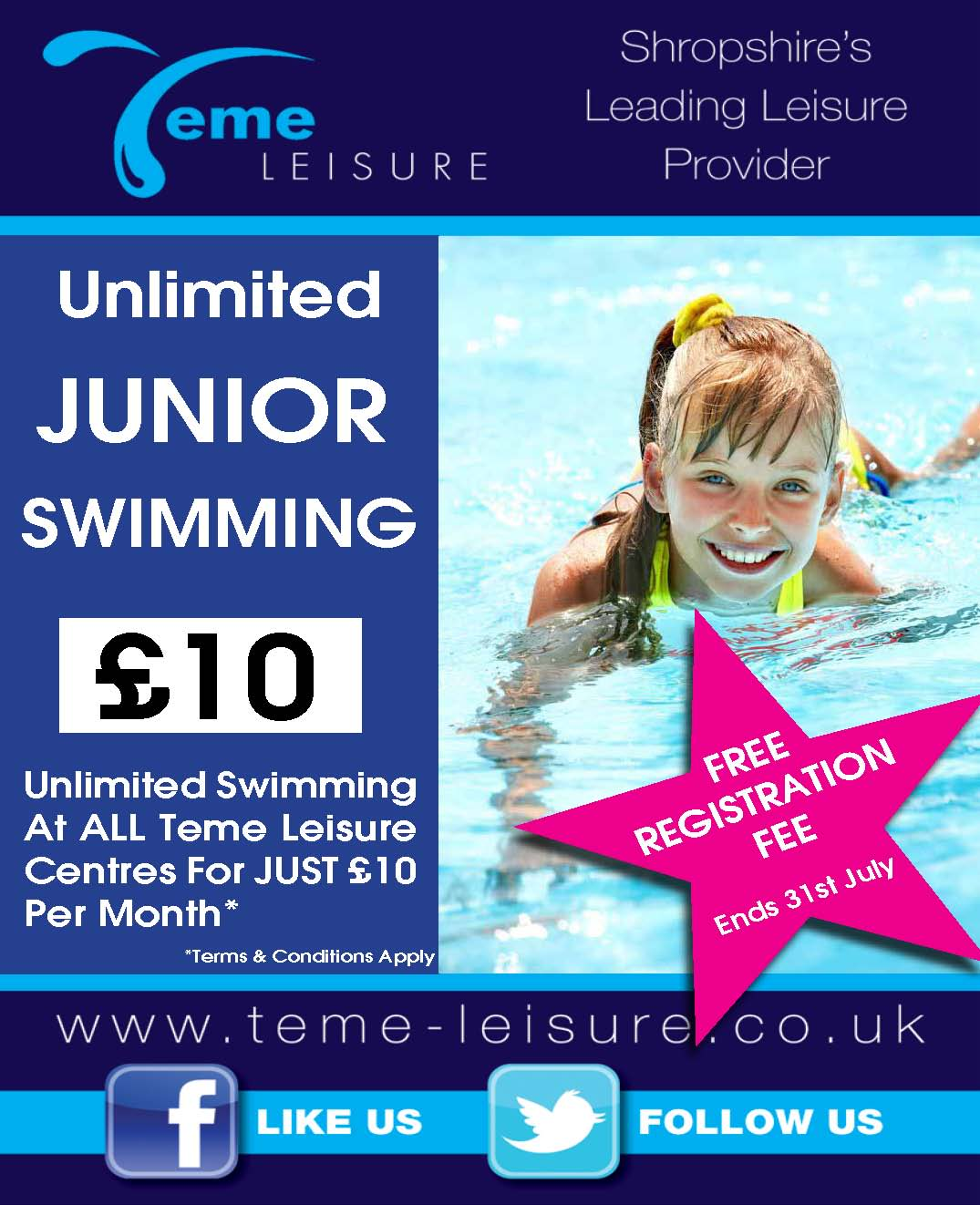 Junior Swim Membership